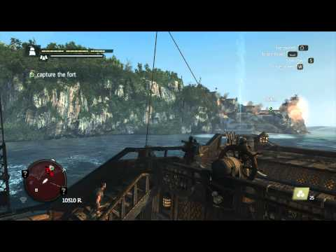 Assassin's Creed IV Black Flag - Forts Punta Guarico (Main Mission) Part: 116 (HD)