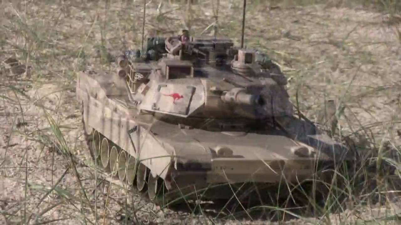 M1a2 Abrams Battle Tank 1 16 Radio Controlled In