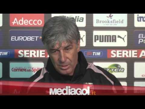 (1/2)Gian Piero Gasperini in conferenza stampa vigilia Palermo-Verona Tim Cup - Mediagol.it