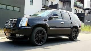 Top car Model Cadillac ESCALADE SUV 2007/V8 4WD Gasoline/price call/Dara Auto 9999 016829990/phnom P