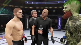 Khabib vs. Lepricon (EA Sports UFC 2) - CPU vs. CPU