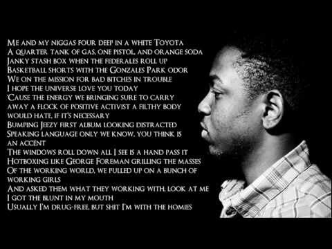 Kendrick Lamar - The Art Of Peer Pressure (Lyrics HD)