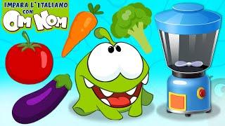 Impara Colori con la Verdura | Video educativo per bambini in Italiano