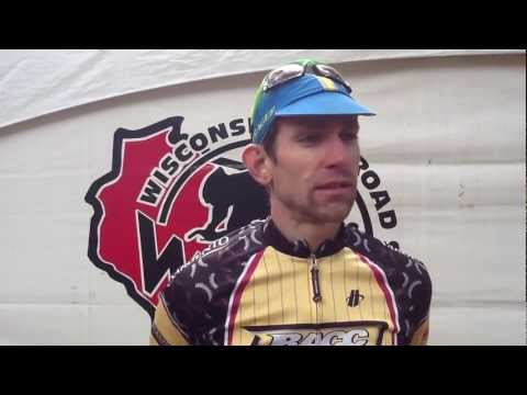 Brian Matter - winner of the BelGioioso Elite race at the 2012 WORS Crystal Lake Classic