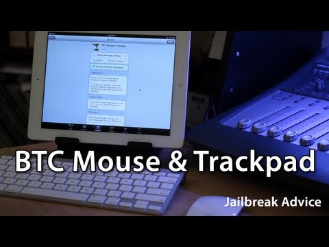 [Jailbreak Advice] BTC Mouse & Trackpad - Add A Mouse To The iOS Bluetooth Stack