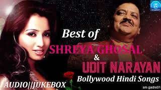 Download Lagu Best of Udit Narayan & shreya Ghoshal Bollywood Hindi  Jukebox Songs Gratis STAFABAND