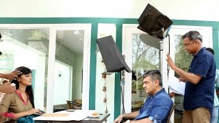 Thala Ajith 55th Movie shooting Scene 2014