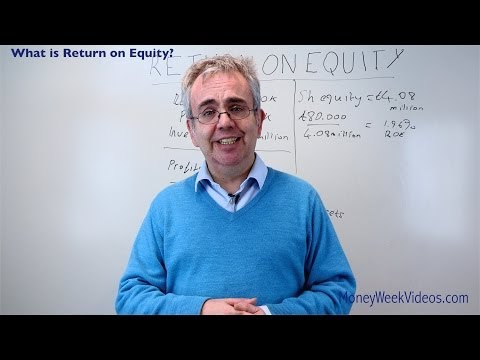 What is Return on Equity? - MoneyWeek Videos