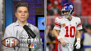 NFL word association: Eli Manning the clear Giants starter | Pro Football Talk | NBC Sports
