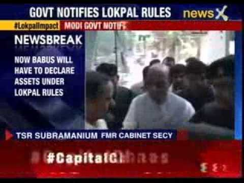 Narendra Modi government notifies new Lokpal rules