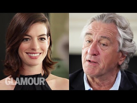 Robert De Niro + Anne Hathaway Get Real About Acting Together | The And