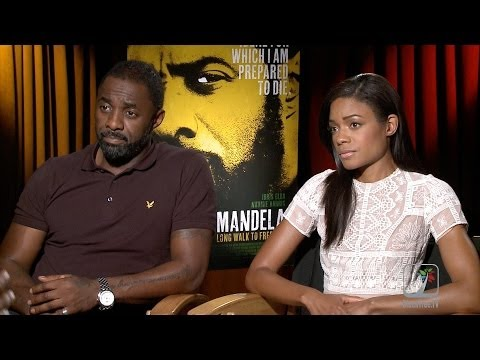 Idris Elba and Naomie Harris discuss Mandela: Long Walk To Freedom #OscarWatch