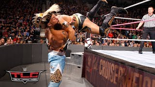 Download Kalisto flies head-first into Enzo Amore with a jaw-dropping dive through the ropes: WWE TLC 2017 3Gp Mp4