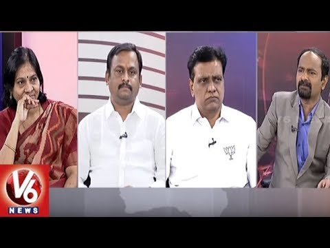 Special Debate On KTR Comments On Congress And TDP | Good Morning Telangana | V6 News