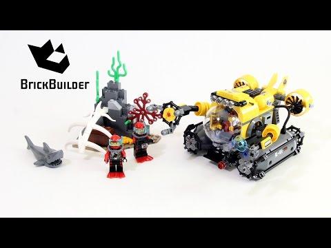 Lego City 60092 Deep Sea Submarine - Lego Speed Build