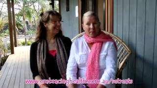 Embracing Health Retreat Testimonial - Ona and Karla