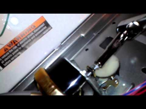 SpeedQueen Washer Water Level Adjustment