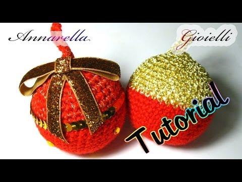 Amigurumi Uncinetto Natale : Tutorial palla di Natale alluncinetto Amigurumi How ...