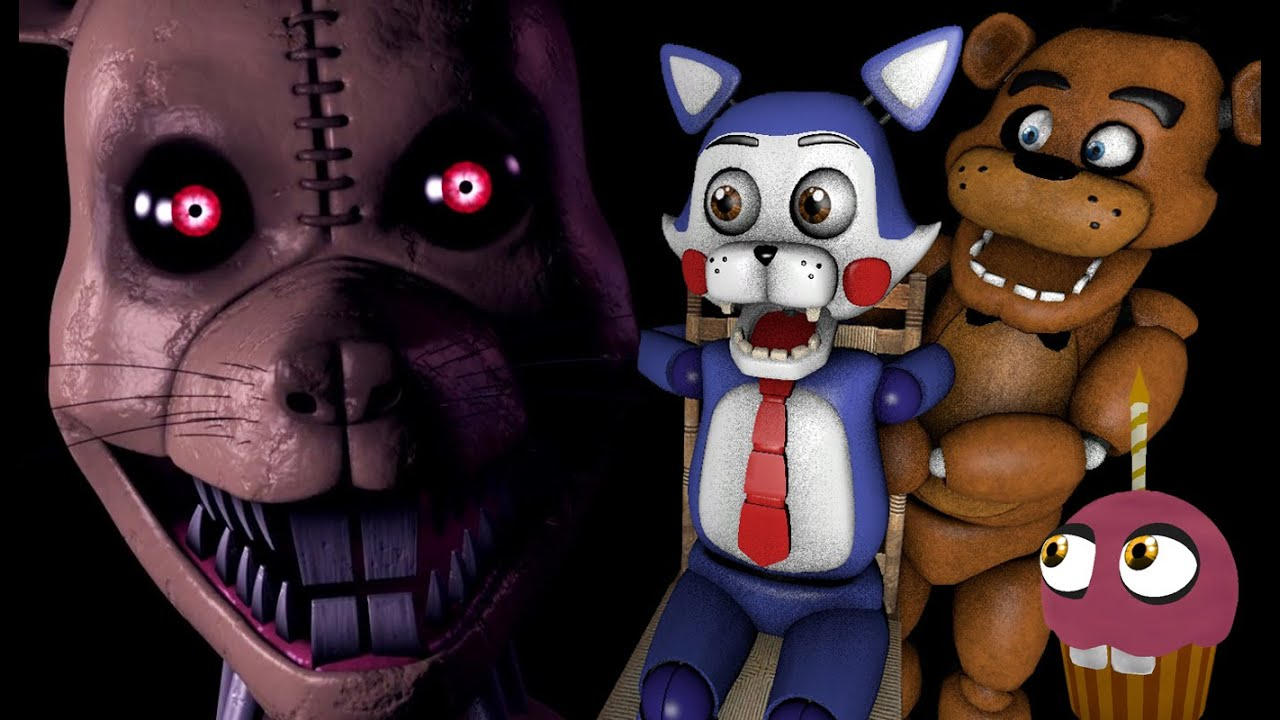 FREDDY AND CANDY REACT TO: Five Nights at Candy's 3 Trailer