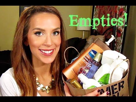 Empties Review Friday Eve!