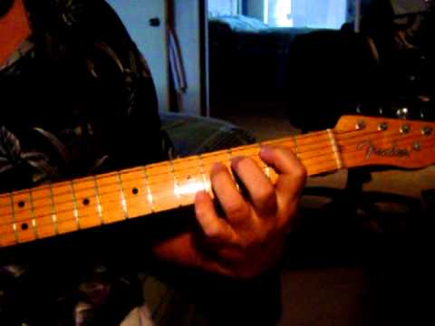 Jimmy Reed B Chord Trick