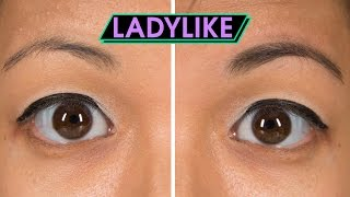 Women Try Airbrush Eyebrows • Ladylike