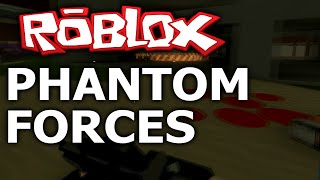 ROBLOX: Phantom Forces Beta! (ROBLOX GAMEPLAY)