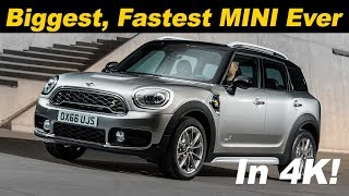 2018 MINI Countryman Hybrid Review / Comparison - In 4K