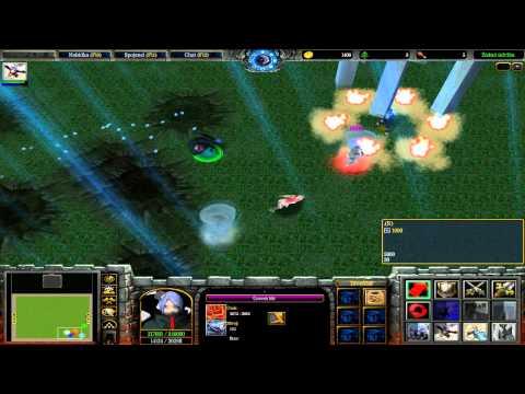 Zapaříme CZ - Let's play - Warcraft 3 - Naruto Battle Royal Díl. 10