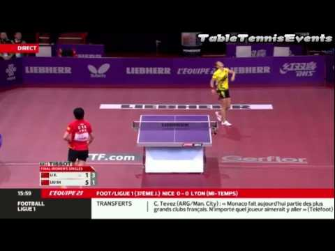 Li Xiaoxia Vs Liu Shiwen: Final [WTTC 2013 Paris]