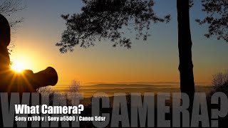 What camera should I buy? Sony rx100 v   Sony a6500   Canon 5dsr