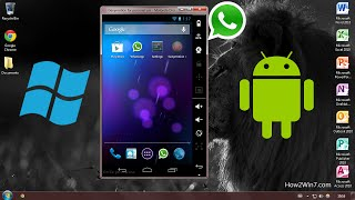 How to install Android, Google Apps, and WhatsApp on your Windows PC