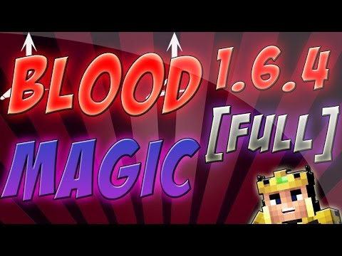 Blood Magic Mod Review [Full] [1.6.4/1.7.2] En Español