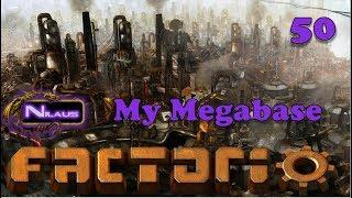 Factorio - My Megabase E50 - 1000 Science per minute