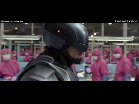 Robocop 2014 - Escape From The Laboratory Scene Hd video