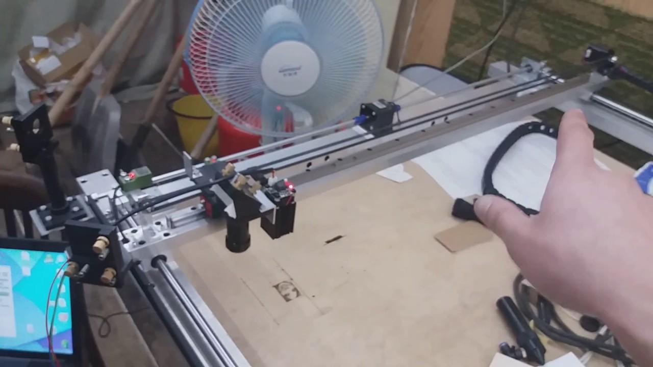 Как сделать своими руками лазерный гравировальный станок 59