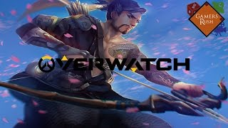 Graficos en Alienware Alpha - Overwatch Gameplay con Hanzo!
