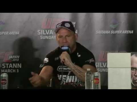 UFC on Fuel 8: Wanderlei Silva vs Brian Stann- Post Fight Interview