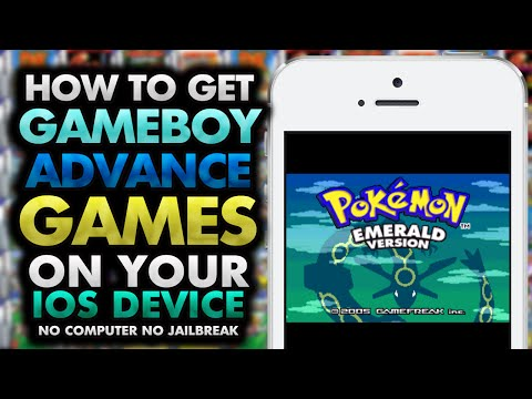 How To Get GBA Games on your iOS Device! 10.0.2 & ↓ (NO JAILBREAK) (NO COMPUTER) iPhone iPad iPod