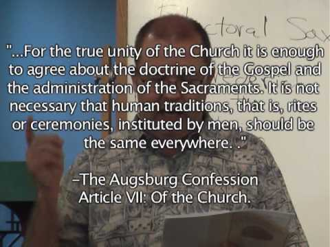 The Lutheran Difference- Week 3- The Church/ Adiaphora Video