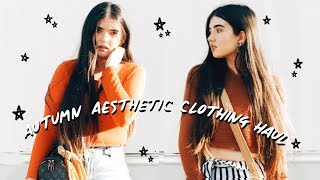 🍁Autumn/Fall Online Aesthetic Try-On Haul 🍂