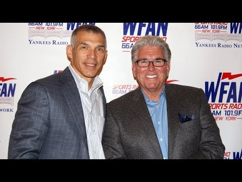 Mike Francesa show open with Joe Girardi - First interview since leaving the Yankees WFAN