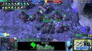 RoX.KIS.TitaN vs MarineKingPrime Game 3: Ritmix RSL II Group D - [Starcraft II]