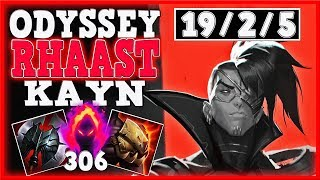 (DARKIN) THIS IS THE EVIL WITHIN!!! | RHAAST ODYSSEY KAYN LEGENDARY SKIN | 4v5 BUT BECAME LEGENDARY!