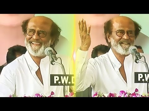 "SUPER SPEECH: ""Kamal Haasan Knows How to Win Politics?"" - Rajinikanth's Speech 