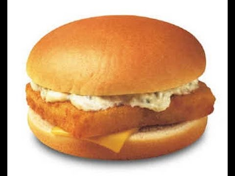 Fish fillet burger restaurant style youtube for Mcdonalds fish sandwich