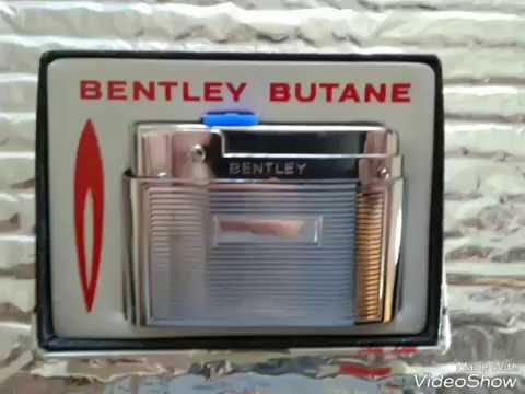 Vintage Bentley  Butane Lighter photos