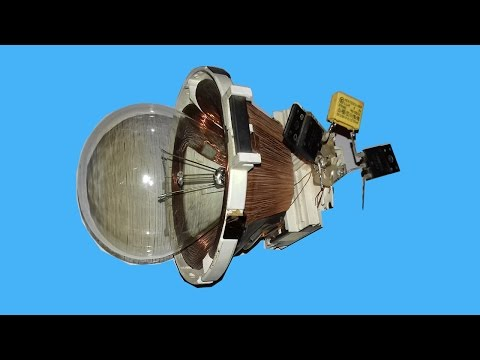 Free Energy 220v Bulbs using TV Yock thumbnail