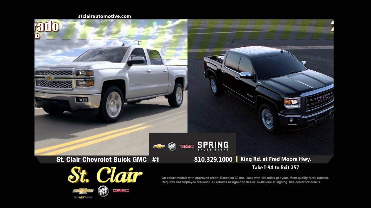 St Clair Chevrolet Buick Gmc Spring Truck Youtube
