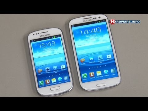 Samsung Galaxy S III Mini review - Hardware.Info TV (Dutch)